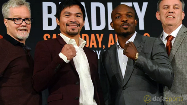 Manny Pacquiao v Timothy Bradley Boxing