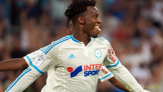 Marseille forward Michy Batshuayi
