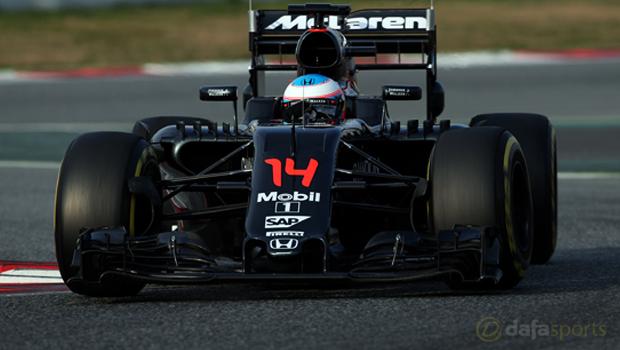 McLaren Honda Fernando Alonso Formula 1