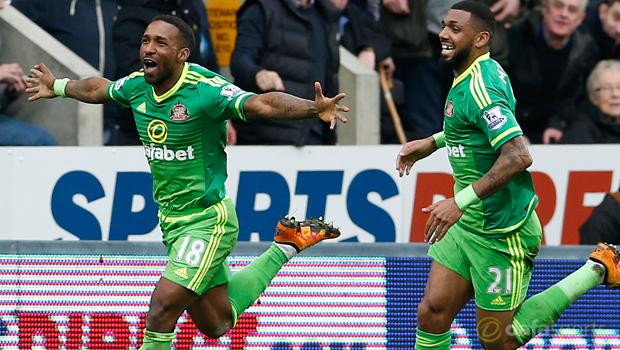 Newcastle 1-1 Sunderland Jermain Defoe