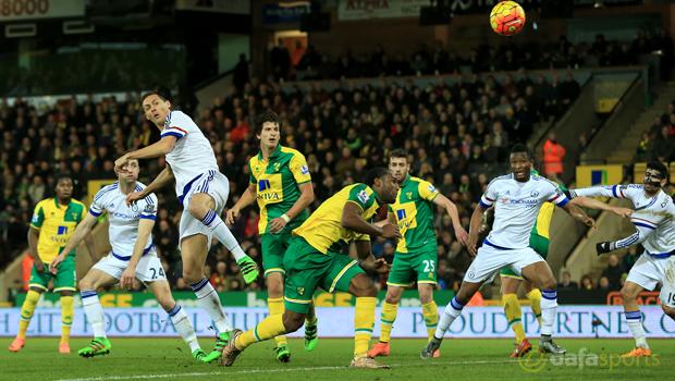 Norwich City v Chelsea midfielder Nemanja Matic