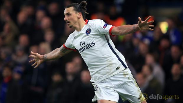 Paris Saint-Germain Zlatan Ibrahimovic