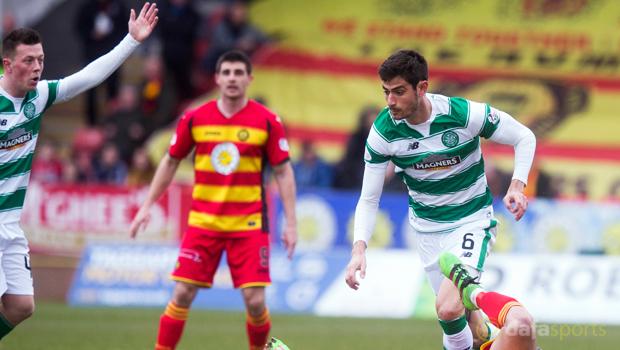 Partick Thistle v Celtic Nir Bitton Scottish Premiership