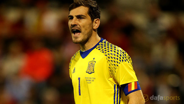 Spain captain Iker Casillas