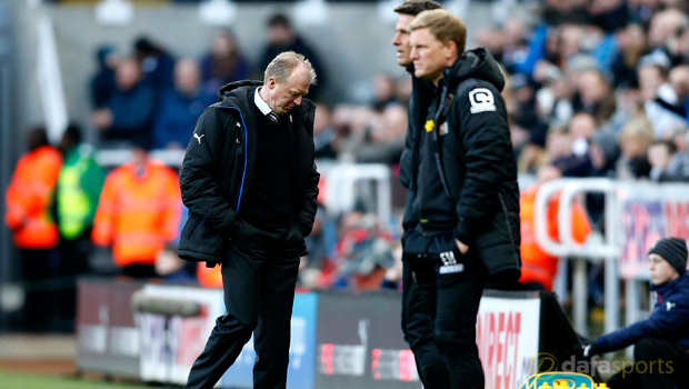 Steve McClaren Newcastle United v AFC Bournemouth