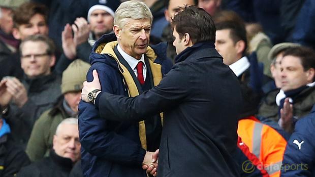 Tottenham Hotspur v Arsenal Arsene Wenger