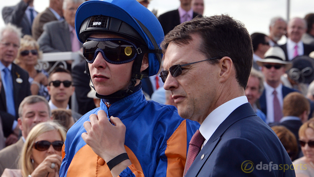 Trainer Aiden OBrien and Joseph OBrien Horse Racing
