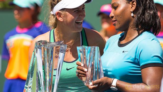 Victoria Azarenka BNP Paribas Open WTA
