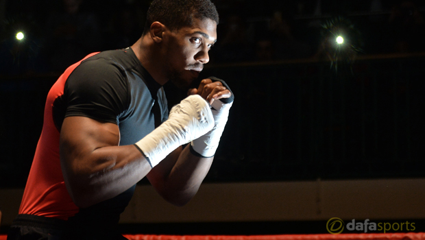 Anthony Joshua v Dillian Whyte Boxing