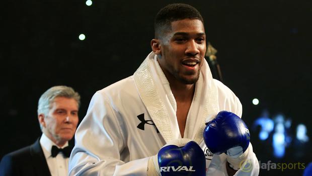Anthony Joshua v Dominic Breazeale Boxing
