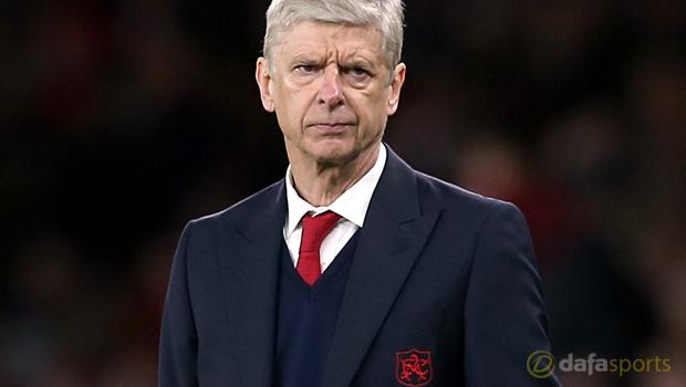 Arsene Wenger Arsenal v West Brom