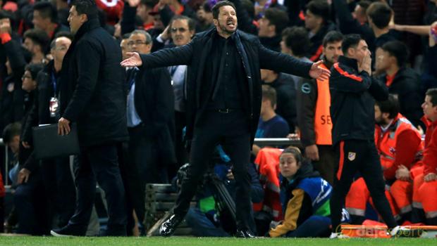 Atletico Madrid v Barcelona Champions League
