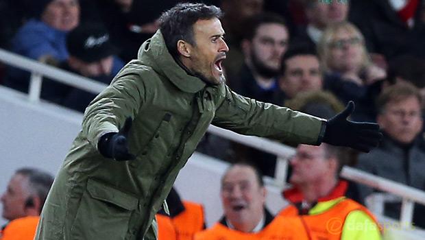 Barca manager Luis Enrique