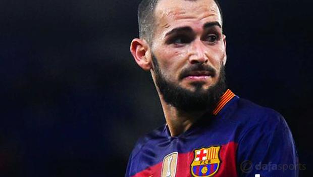 Barcelona full-back Aleix Vidal