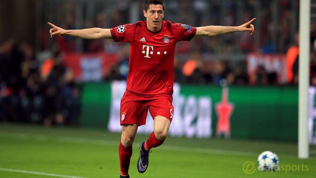 Bayern Munich Robert Lewandowski