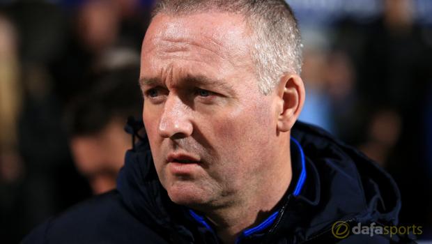 Blackburn Rovers boss Paul Lambert