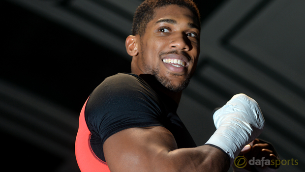 Boxing Anthony Joshua
