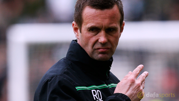 Celtic manager Ronny Deila Scottish Premiership