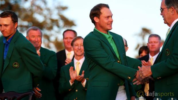 Danny Willett Masters green jacket Jordan