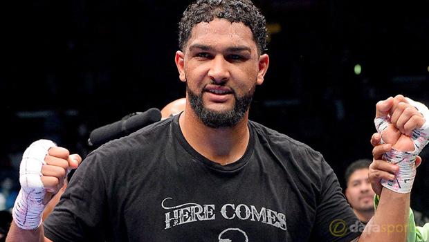 Dominic Breazeale v Anthony Joshua Boxing