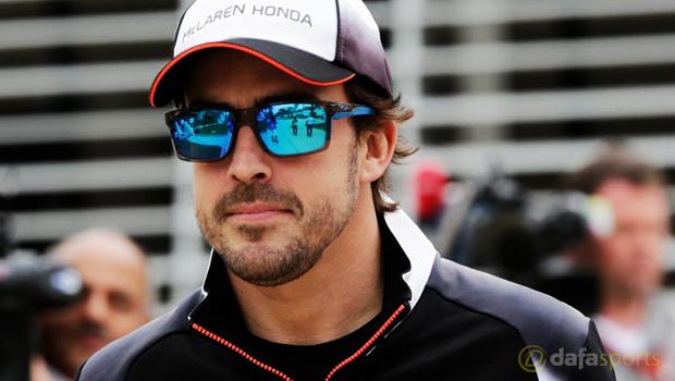 F1 McLaren driver Fernando Alonso