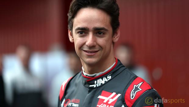 Haas Esteban Gutierrez F1