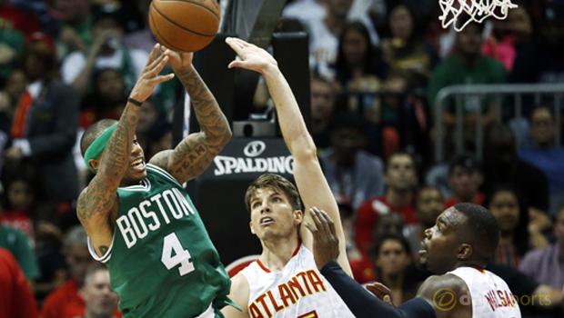 Kyle Korver Atlanta Hawks v Boston Celtics