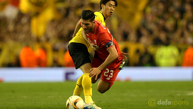 Liverpool Emre Can ankle injury