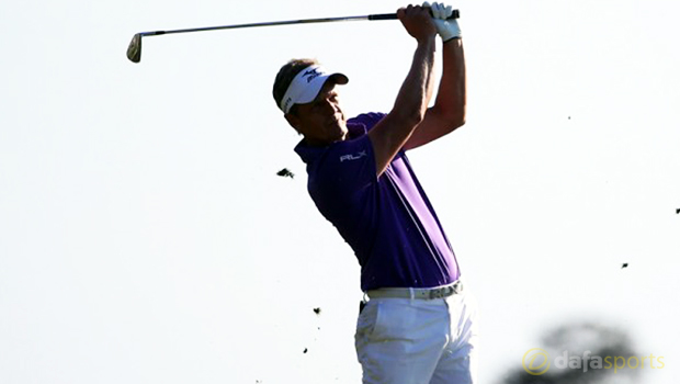 Luke Donald ahead of Valero Texas Open