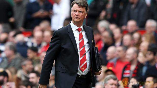 Manchester United manager LVG