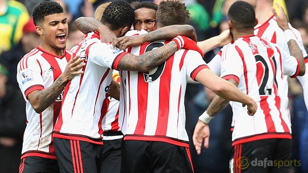 Norwich City v Sunderland Jermain Defoe
