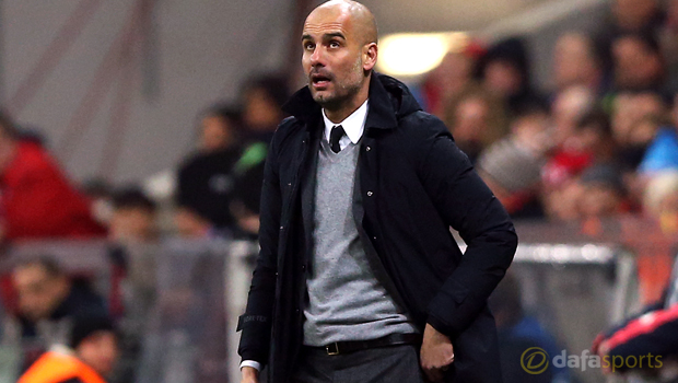 Pep Guardiola to Manchester City