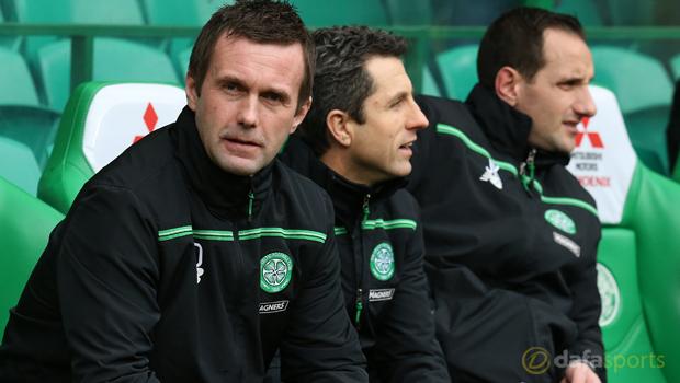 Ronny Deila Celtic v Rangers