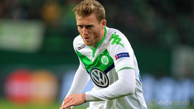 Wolfsburg forward Andre Schurrle