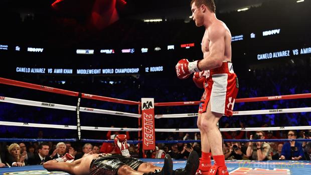Amir Khan vs Canelo Alvarez Boxing
