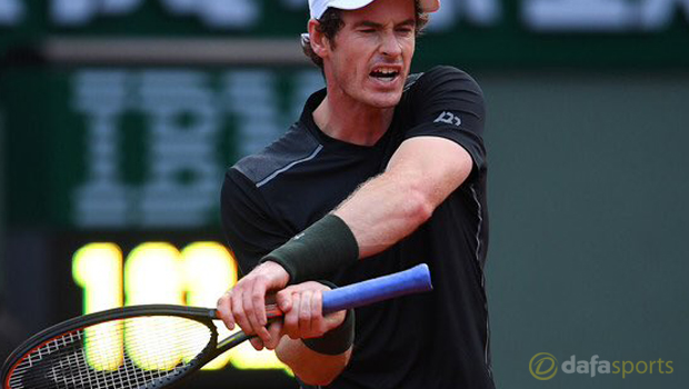 Andy Murray Tennis French Open