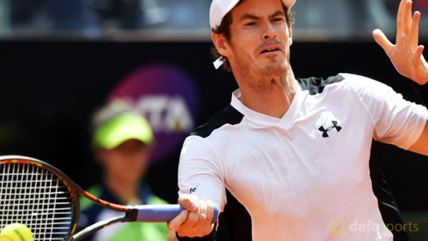 Andy Murray ahead of French Open