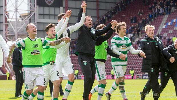 Celtic 3-1 Hearts Scottish Premiership