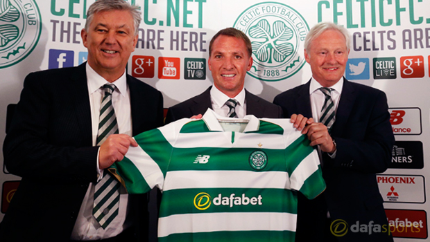 Celtic new manager Brendan Rodgers