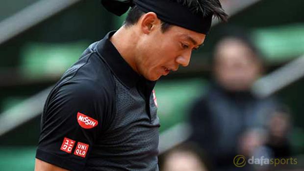 Kei Nishikori French Open