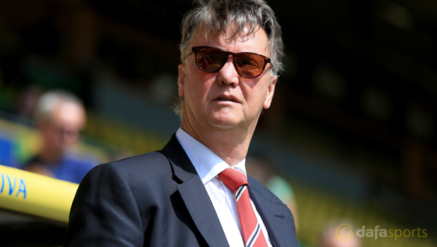 LVG expects Manchester United