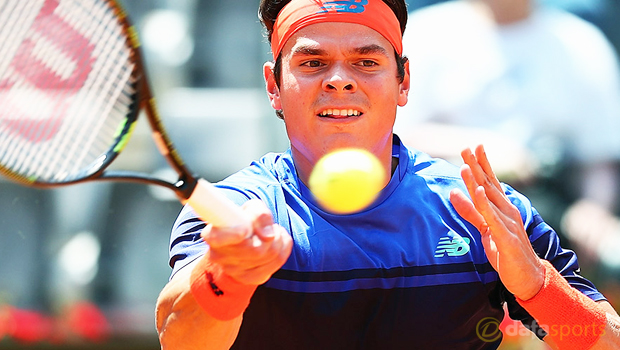 Milos Raonic ahead of French Open