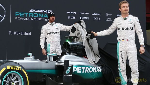 Nico Rosberg and Lewis Hamilton F1