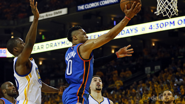 Oklahoma City Thunder 108-102 Golden State Warriors NBA