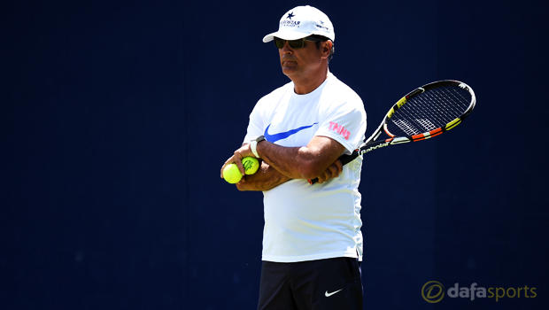 Rafael Nadal coach and uncle Toni Nadal Madrid Masters