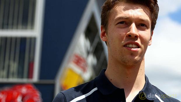 Toro Rosso Daniil Kvyat Formula One
