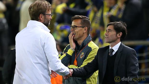 Villarreal v Liverpool Jurgen Klopp