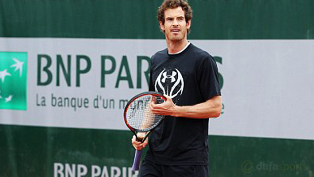 Andy Murray French Open 2016