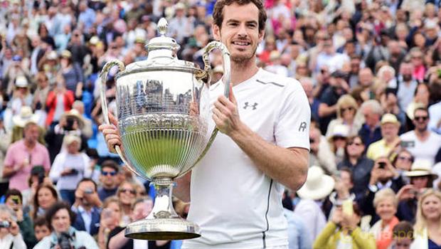 Andy Murray Queens 2016