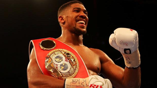 Anthony Joshua Boxing